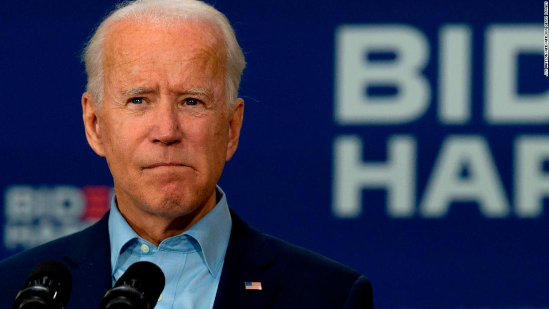 Trump campaign posts clipped video of Joe Biden's Pledge of Allegiance