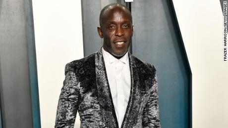 Michael K. Williams attends the 2020 Vanity Fair Oscar Party.
