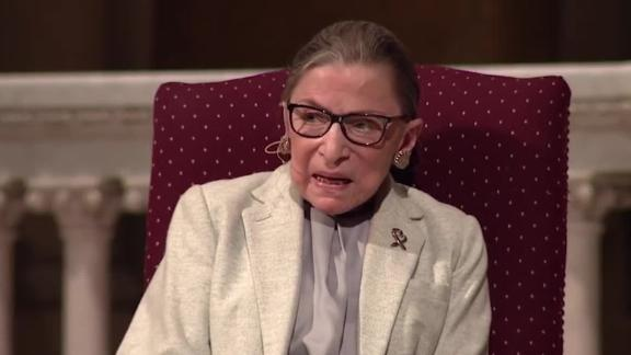 Image for 20 years of closed-door conversations with Ruth Bader Ginsburg