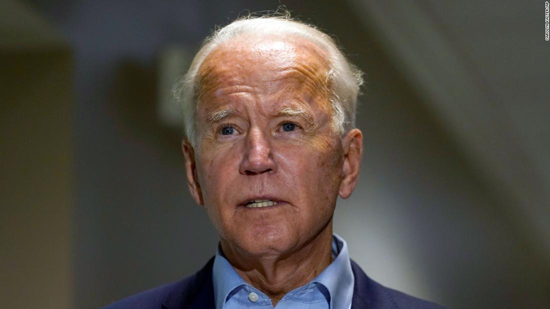 Fact check: Biden falsely claims Trump campaign only asked him for Supreme Court list after Ruth Bader Ginsburg died – CNN