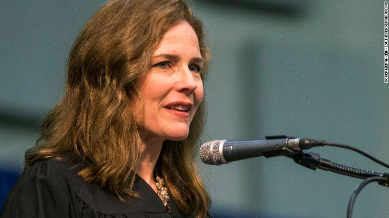 Amy Coney Barrett, a proven conservative on Trump's Supreme Court short list