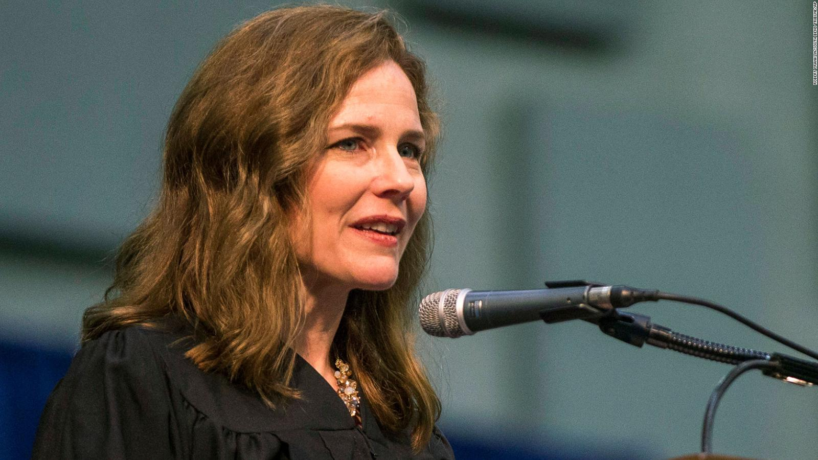 Amy Coney Barrett Initially Failed To Disclose Talks On Roe V Wade Hosted By Anti Abortion Groups On Senate Paperwork Cnnpolitics