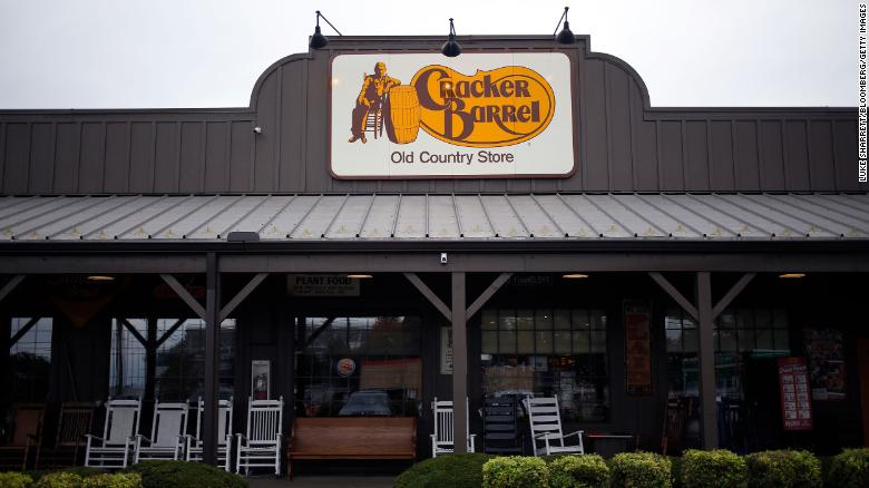 Cracker Barrel is adding alcohol to the menu for the first time in its history