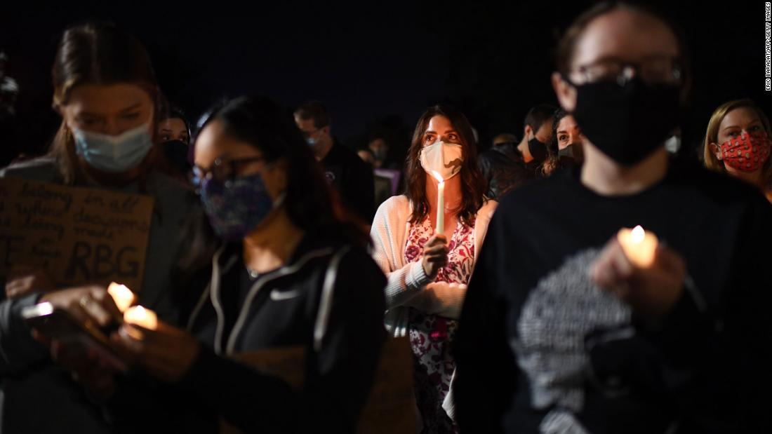The US is barreling into the ultimate political stress test, a Supreme Court battle and an election, occurring in the middle of an again-worsening pandemic