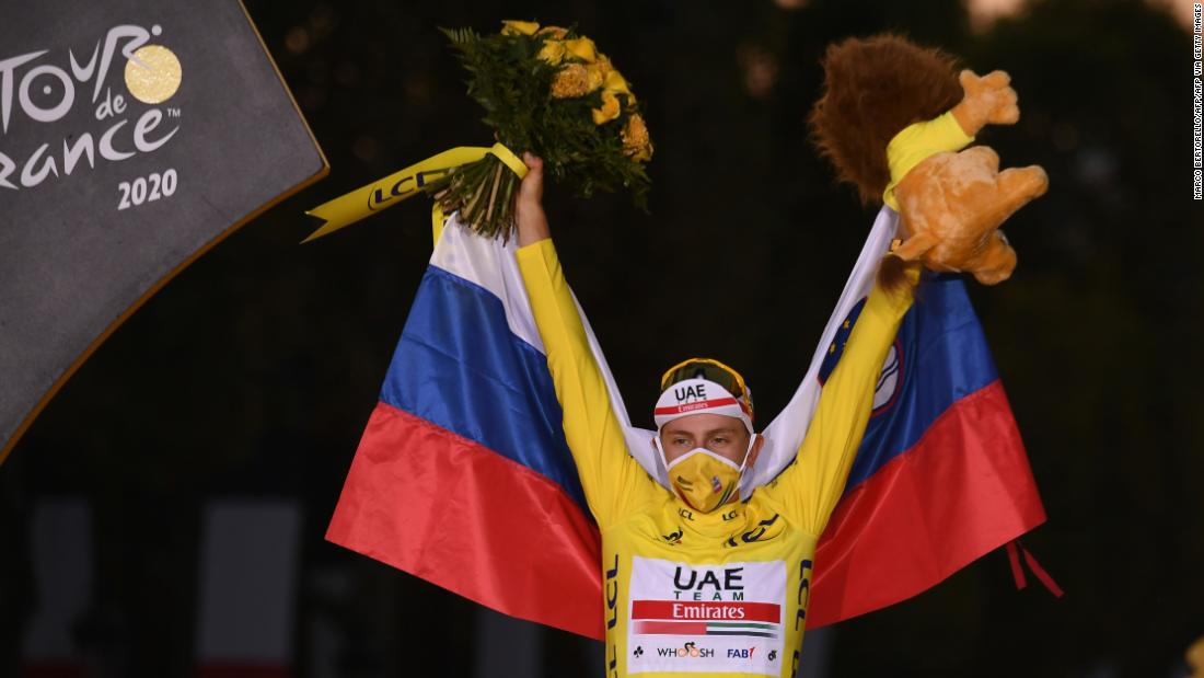 Tadej Pogacar wins Tour de France to make history for Slovenia – CNN International