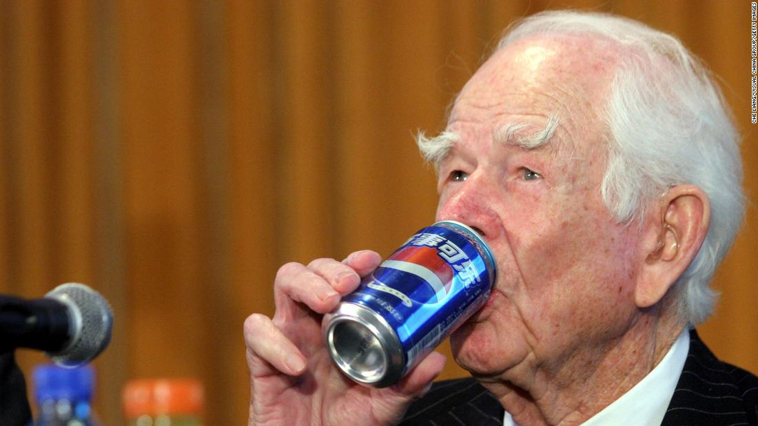 "Former PepsiCo CEO <a href=""https://www.cnn.com/2020/09/20/business/donald-kendall-pepsico/index.html"" target=""_blank"">Donald Kendall</a> died Saturday, September 19, at the age of 99. He served as the CEO of both Pepsi-Cola and PepsiCo for 23 years."