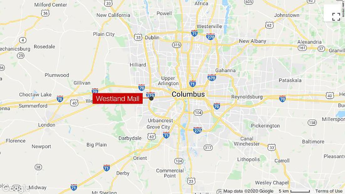 1 person shot dead at Ohio gun show