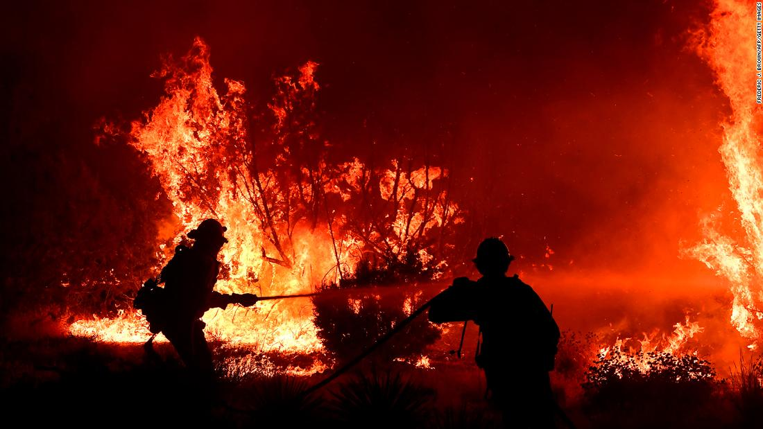 The Bobcat Fire has burned more than 100,000 acres, one of largest fires in LA history
