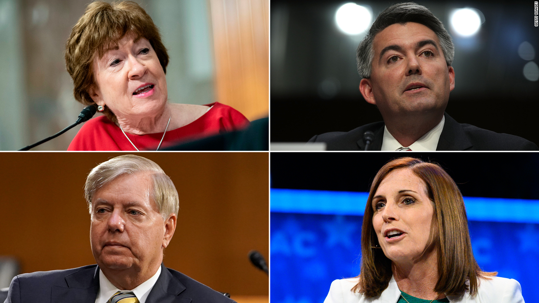 The 10 Senate seats most likely to flip one week from Election Day – CNN