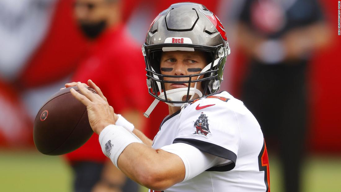 tom brady wins on his home debut for the tampa bay buccaneers cnn tampa bay buccaneers