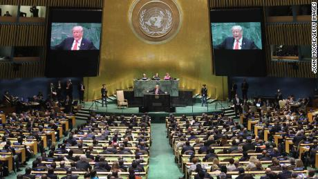 At the UN this week, US President Donald Trump will be denied something he loves - a live audience