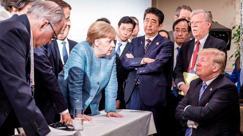 Angela Merkel's message to Joe Biden