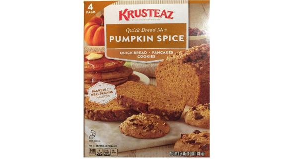 Krusteaz Pumpkin Spice Bread Mix, 4-Pack