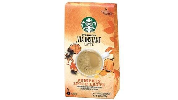 Starbucks VIA Instant Pumpkin Spice Latte, 30 Count, 6-Pack