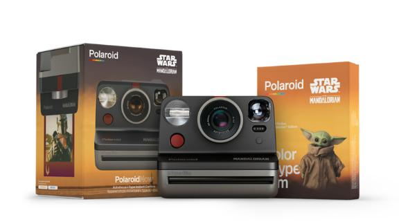The Mandalorian Polaroid Now Instant Camera and i-Type Color Film