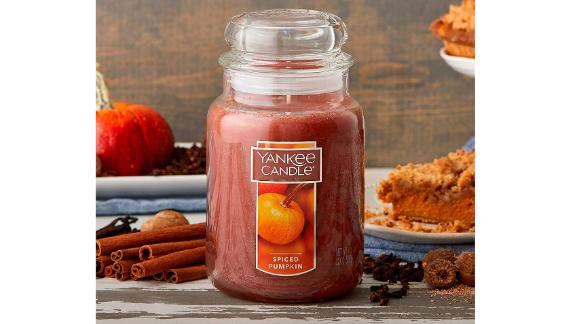 Yankee Candle Spiced Pumpkin Large Jar Candle