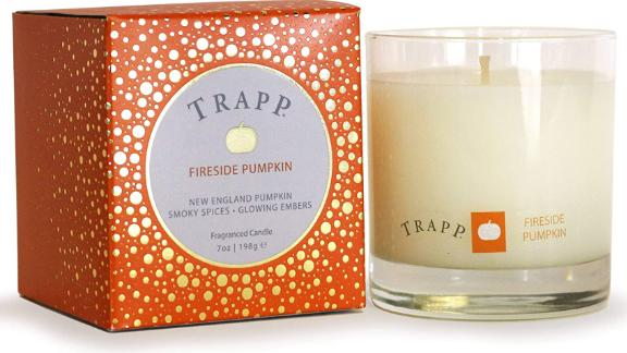 Trapp Large Poured Fireside Pumpkin Scented Candle