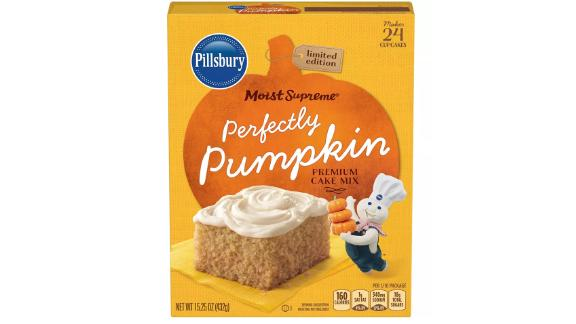 Pillsbury Moist Supreme Perfectly Pumpkin Premium Cake Mix