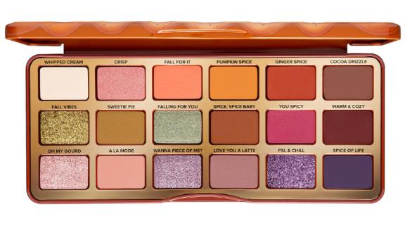 Too Faced Pumpkin Spice Warm & Spicy Eye Shadow Palette