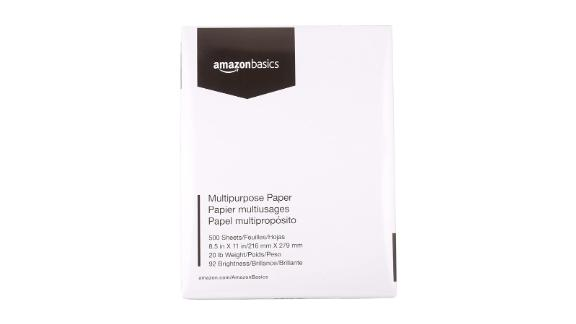 AmazonBasics Multipurpose Copy Printer Paper