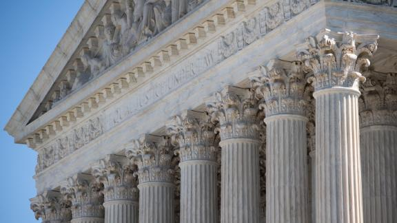 The US Supreme Court is seen in Washington, DC, on May 4, 2020.