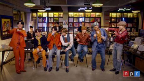 BTS perform 'Tiny Desk' concert from Korea