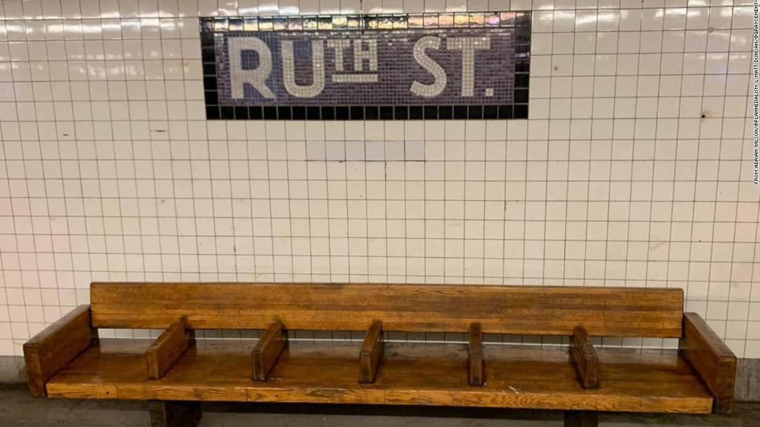 NYC subway station signs altered in tribute to Justice Ruth Bader Ginsburg
