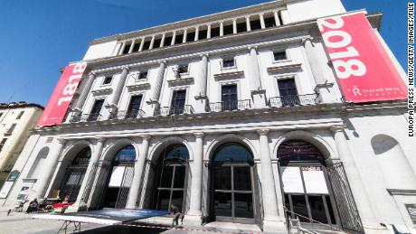 The Teatro Real on June 5. In a statement, the theater said it was in full compliance with Madrid's health regulations.