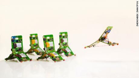 Insect-inspired robots that can jump, fly and climb are almost here