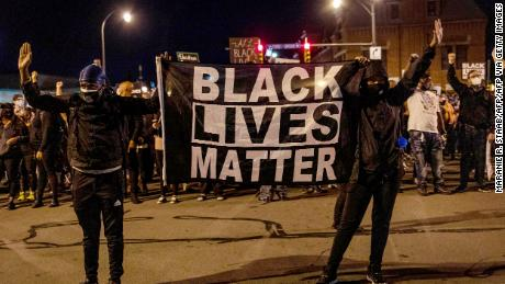Public support for the Black Lives Matter movement has declined since June, the report states
