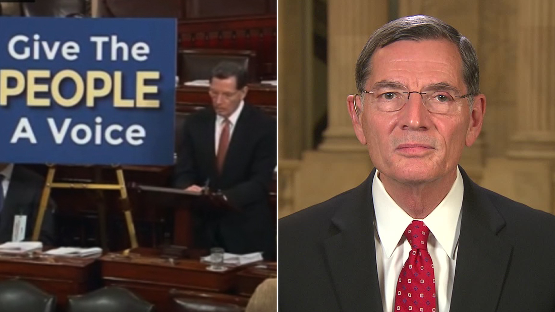 GOP senator reacts to his own words in 2016