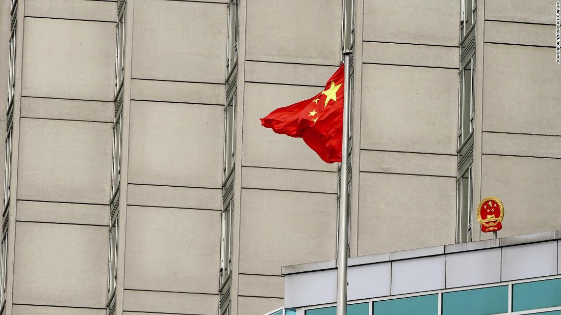 NYPD officer accused of acting as an illegal agent of the Chinese government