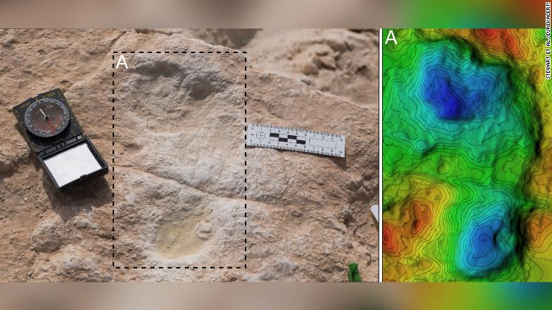 120,000-year-old footprints found in Saudi Arabia — and they might be human