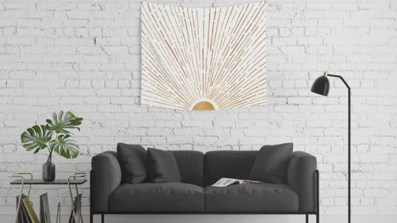 Let the Sun Shine In Wall Tapestry