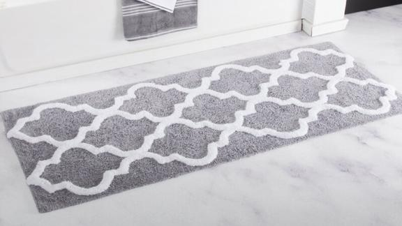 The Twillery Co. Long Trellis Bath Rug