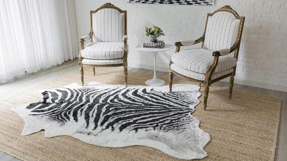 Erin Gates by Momeni Zebra Area Rug