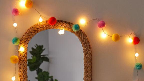 Pompom LED String Lights