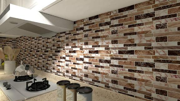 LongKing Peel and Stick Backsplash