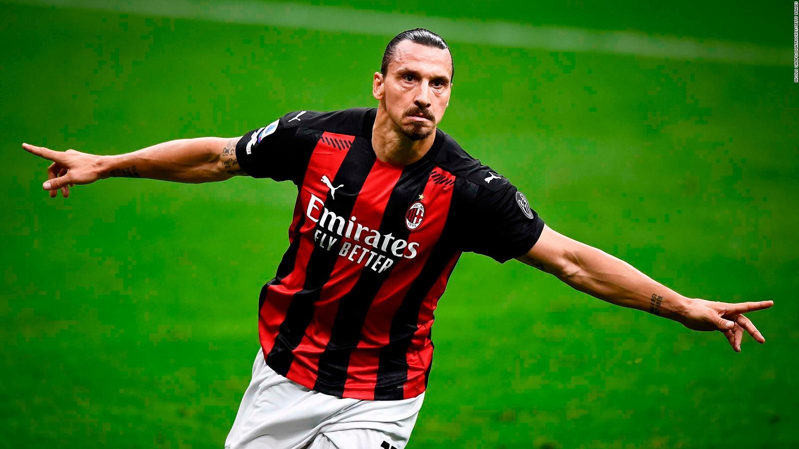 Zlatan Ibrahimovic Age Is Just A Number To Swede As He Leads Ac Milan To Victory Cnn