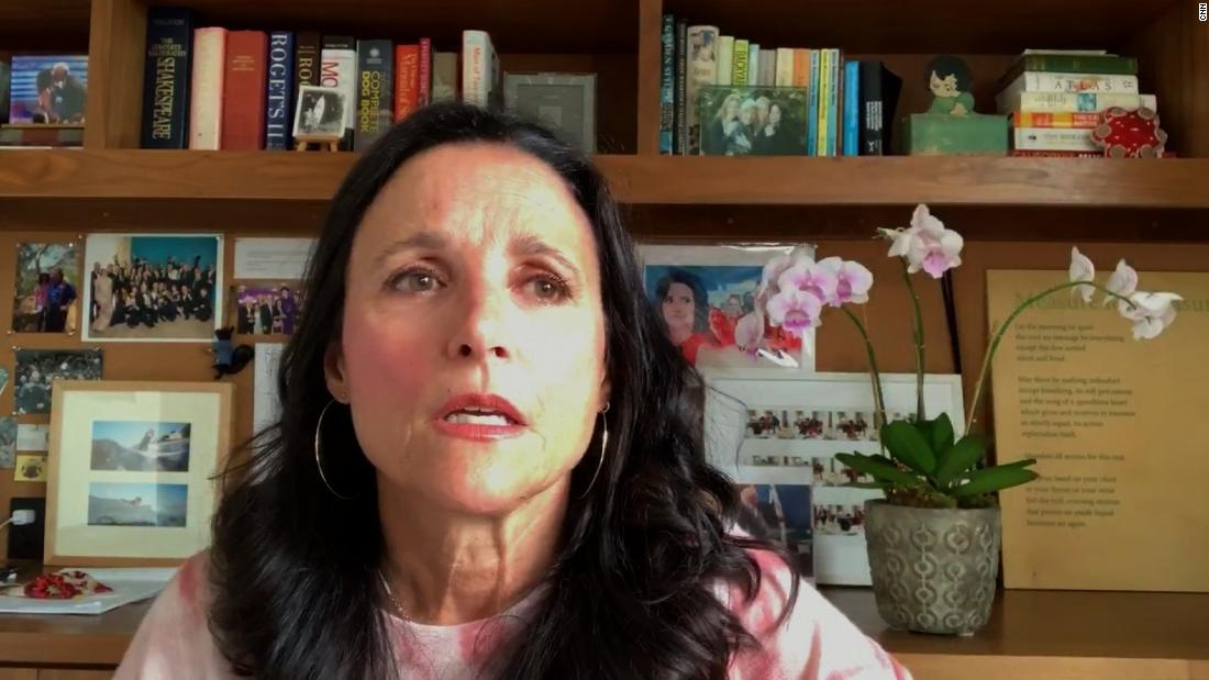 Julia Louis-Drefyus details Biden call after cancer diagnosis