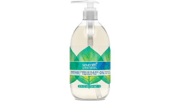 Seventh Generation Hand Wash, Free & Clean Unscented Hand Soap