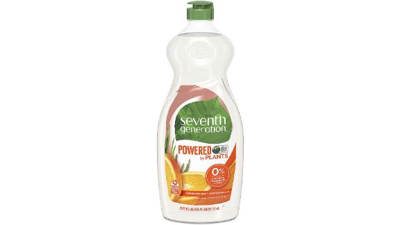 Seventh Generation Dish Liquid Soap, Clementine Zest & Lemongrass Scent
