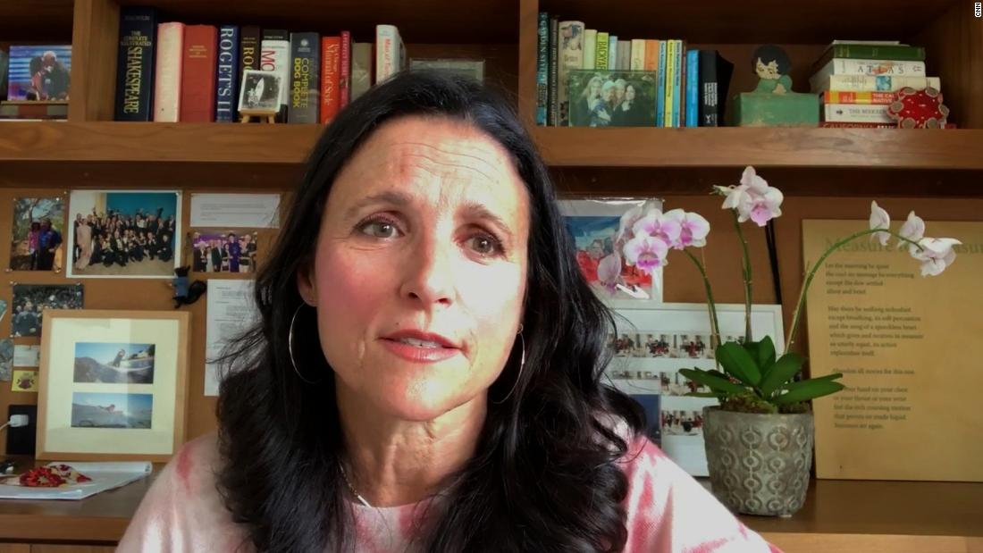 Julia Louis-Dreyfus really, really wants you to vote