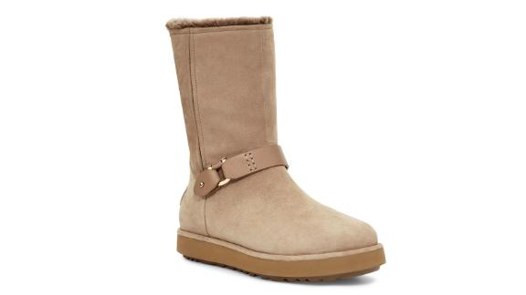 Classic Berge Genuine Shearling Lined Boot