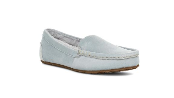 Riley Shimmer Faux Fur Lined Moccasin