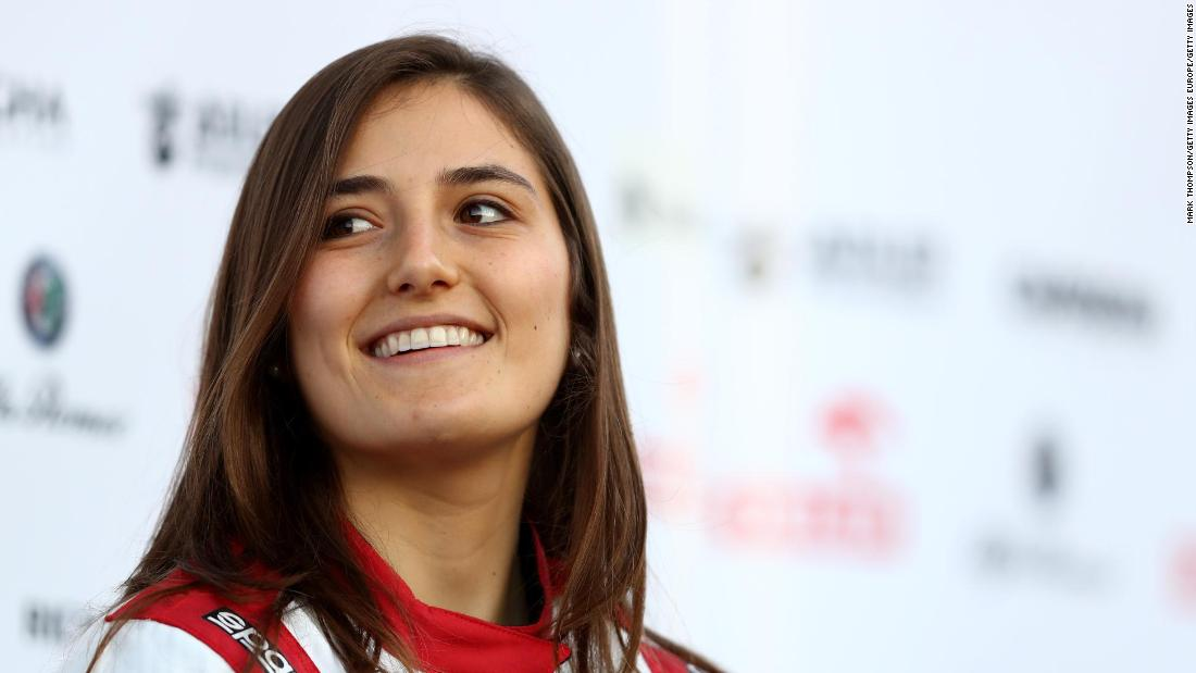 Tatiana Calderon, the driver leading the way for an all-female team