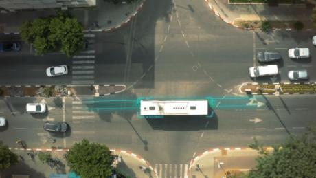 Electric road will power public buses in Tel Aviv
