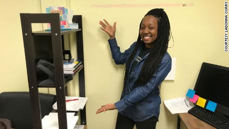 LaDonna Curry, student supports manager with Communities In Schools of Chicago, helps kids with special needs and their families adapt to virtual learning.