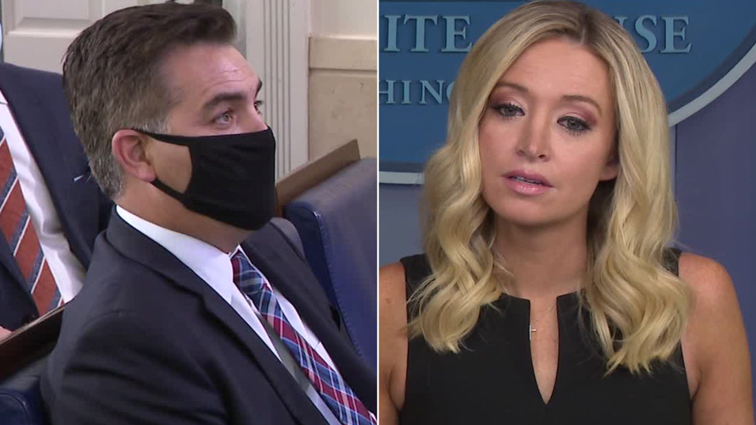Acosta to McEnany: Shouldn't the President tell the truth?