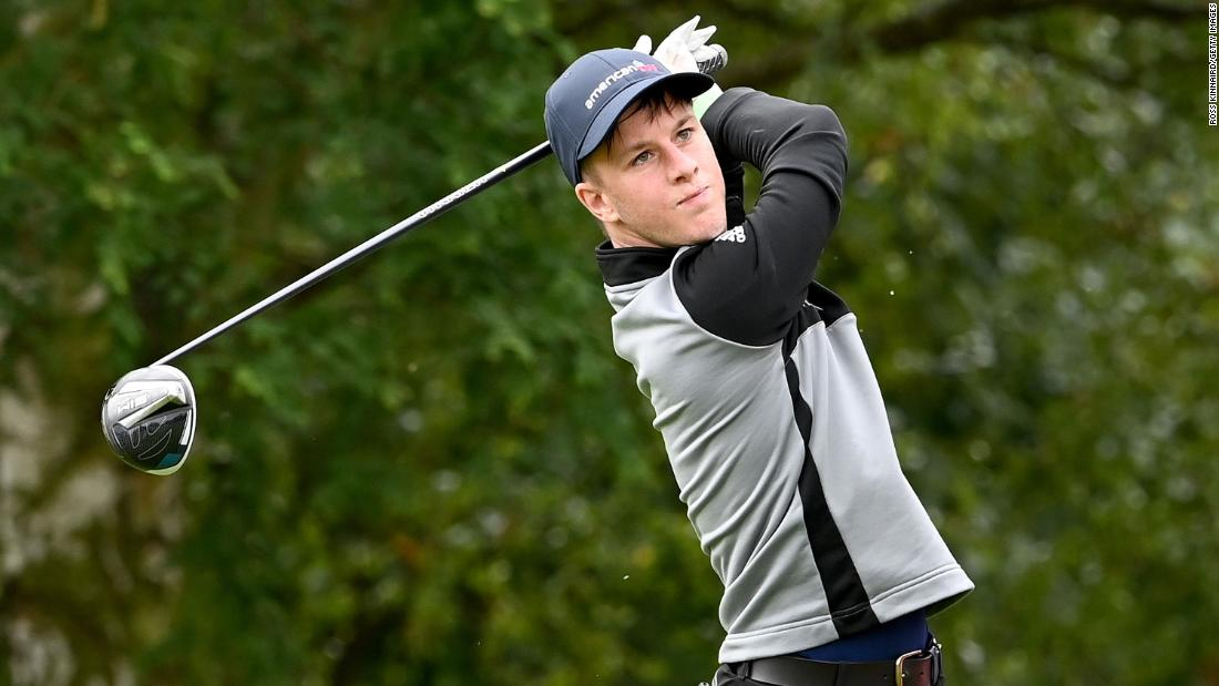 He suffers from rare genetic condition, but there's just no stopping this 'one in a million golfer'